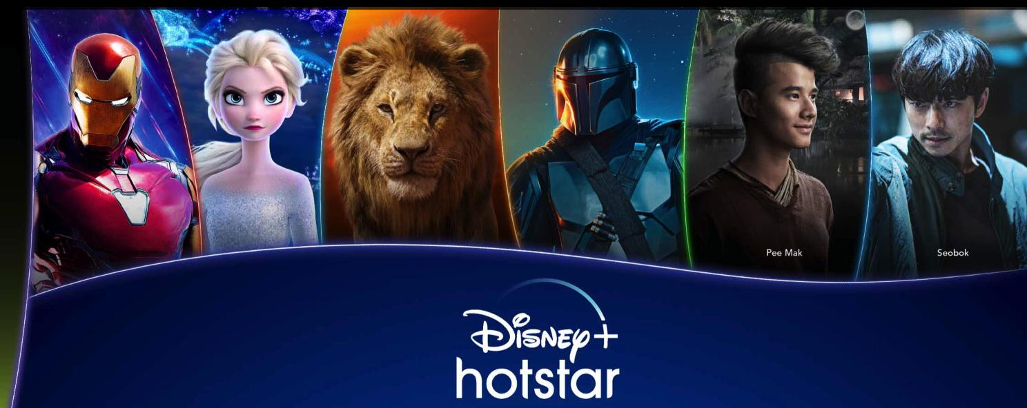 สมัคร AIS Disney + Hotstar